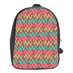 Abstract Seamless Abstract Background Pattern School Bags(large)  by Simbadda