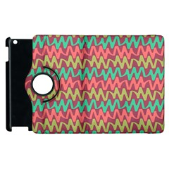 Abstract Seamless Abstract Background Pattern Apple Ipad 2 Flip 360 Case by Simbadda