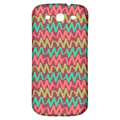 Abstract Seamless Abstract Background Pattern Samsung Galaxy S3 S Iii Classic Hardshell Back Case by Simbadda