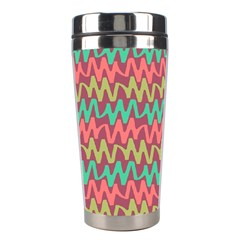 Abstract Seamless Abstract Background Pattern Stainless Steel Travel Tumblers by Simbadda