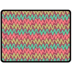 Abstract Seamless Abstract Background Pattern Double Sided Fleece Blanket (large)  by Simbadda