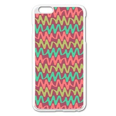 Abstract Seamless Abstract Background Pattern Apple Iphone 6 Plus/6s Plus Enamel White Case by Simbadda