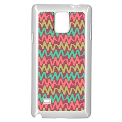 Abstract Seamless Abstract Background Pattern Samsung Galaxy Note 4 Case (white) by Simbadda