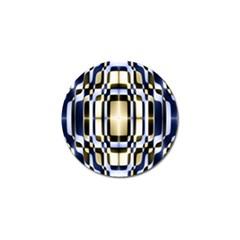 Colorful Seamless Pattern Vibrant Pattern Golf Ball Marker (10 Pack) by Simbadda