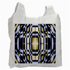 Colorful Seamless Pattern Vibrant Pattern Recycle Bag (one Side) by Simbadda