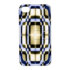 Colorful Seamless Pattern Vibrant Pattern Apple Iphone 4/4s Hardshell Case With Stand by Simbadda