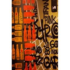 Graffiti Bottle Art 5 5  X 8 5  Notebooks by Simbadda