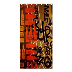 Graffiti Bottle Art Shower Curtain 36  X 72  (stall)  by Simbadda