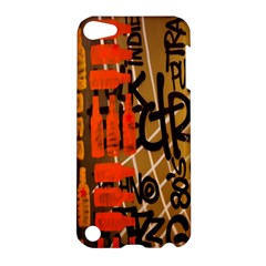 Graffiti Bottle Art Apple Ipod Touch 5 Hardshell Case by Simbadda