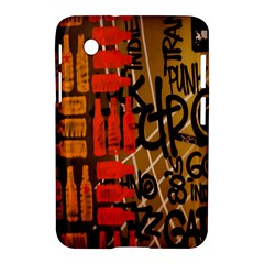Graffiti Bottle Art Samsung Galaxy Tab 2 (7 ) P3100 Hardshell Case  by Simbadda