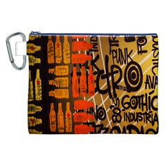 Graffiti Bottle Art Canvas Cosmetic Bag (xxl) by Simbadda