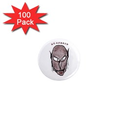 Scary Vampire Drawing 1  Mini Magnets (100 Pack)  by dflcprints