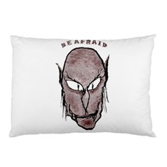 Scary Vampire Drawing Pillow Case by dflcprints