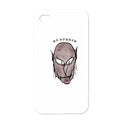 Scary Vampire Drawing Apple Iphone 4 Case (white) by dflcprints