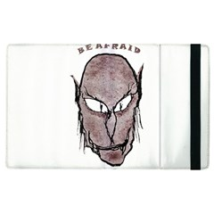 Scary Vampire Drawing Apple Ipad 2 Flip Case by dflcprints