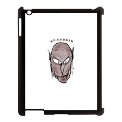 Scary Vampire Drawing Apple Ipad 3/4 Case (black) by dflcprints