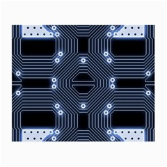 A Completely Seamless Tile Able Techy Circuit Background Small Glasses Cloth by Simbadda