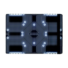 A Completely Seamless Tile Able Techy Circuit Background Ipad Mini 2 Flip Cases by Simbadda