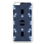 A Completely Seamless Tile Able Techy Circuit Background Apple iPhone 6 Plus/6S Plus Enamel White Case Front
