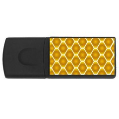 Snake Abstract Background Pattern Usb Flash Drive Rectangular (4 Gb) by Simbadda