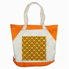 Snake Abstract Background Pattern Accent Tote Bag by Simbadda