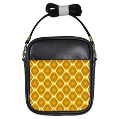 Snake Abstract Background Pattern Girls Sling Bags by Simbadda