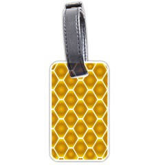 Snake Abstract Background Pattern Luggage Tags (one Side)  by Simbadda