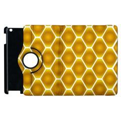 Snake Abstract Background Pattern Apple Ipad 3/4 Flip 360 Case by Simbadda