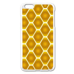 Snake Abstract Background Pattern Apple Iphone 6 Plus/6s Plus Enamel White Case by Simbadda