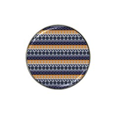 Seamless Abstract Elegant Background Pattern Hat Clip Ball Marker (10 Pack) by Simbadda