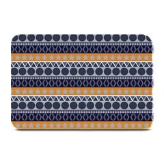 Seamless Abstract Elegant Background Pattern Plate Mats by Simbadda