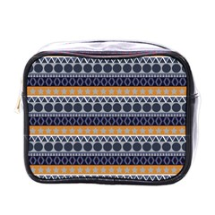 Seamless Abstract Elegant Background Pattern Mini Toiletries Bags by Simbadda