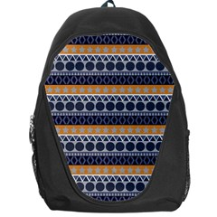 Seamless Abstract Elegant Background Pattern Backpack Bag by Simbadda