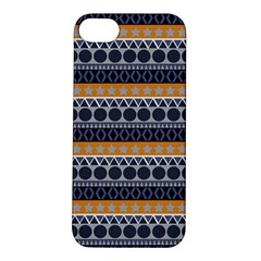 Seamless Abstract Elegant Background Pattern Apple iPhone 5S/ SE Hardshell Case