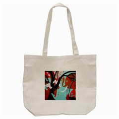 Colorful Graffiti In Amsterdam Tote Bag (cream) by Simbadda
