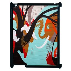 Colorful Graffiti In Amsterdam Apple Ipad 2 Case (black) by Simbadda