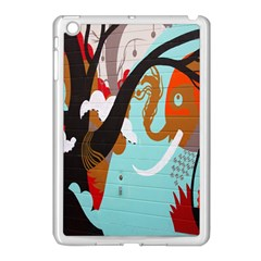 Colorful Graffiti In Amsterdam Apple Ipad Mini Case (white) by Simbadda