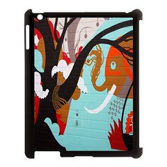 Colorful Graffiti In Amsterdam Apple Ipad 3/4 Case (black) by Simbadda