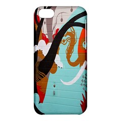 Colorful Graffiti In Amsterdam Apple Iphone 5c Hardshell Case by Simbadda