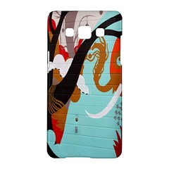 Colorful Graffiti In Amsterdam Samsung Galaxy A5 Hardshell Case  by Simbadda
