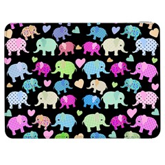 Cute Elephants  Samsung Galaxy Tab 7  P1000 Flip Case by Valentinaart