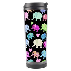 Cute Elephants  Travel Tumbler