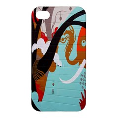 Colorful Graffiti In Amsterdam Apple Iphone 4/4s Hardshell Case by Simbadda