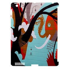 Colorful Graffiti In Amsterdam Apple Ipad 3/4 Hardshell Case (compatible With Smart Cover) by Simbadda