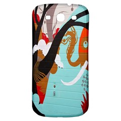 Colorful Graffiti In Amsterdam Samsung Galaxy S3 S Iii Classic Hardshell Back Case by Simbadda