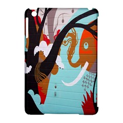 Colorful Graffiti In Amsterdam Apple Ipad Mini Hardshell Case (compatible With Smart Cover) by Simbadda