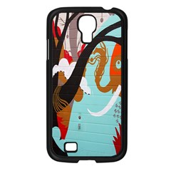 Colorful Graffiti In Amsterdam Samsung Galaxy S4 I9500/ I9505 Case (black) by Simbadda
