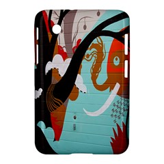 Colorful Graffiti In Amsterdam Samsung Galaxy Tab 2 (7 ) P3100 Hardshell Case  by Simbadda