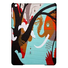 Colorful Graffiti In Amsterdam Ipad Air Hardshell Cases by Simbadda