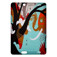 Colorful Graffiti In Amsterdam Amazon Kindle Fire Hd (2013) Hardshell Case by Simbadda